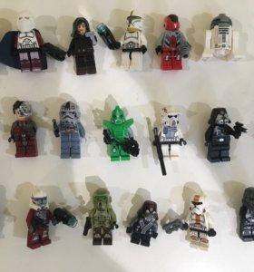 Лего Star Wars звёздные войны человечки 18 шт