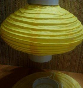 Бумажные фонарики(2 шт)