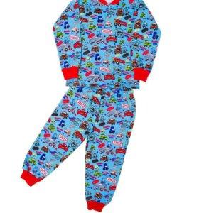 Новые пижамы. Тачки.