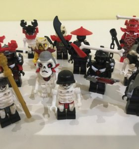 Лего ниндзяго Lego фигурки 17 шт