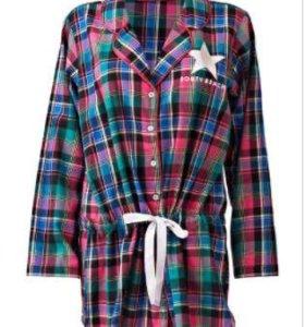 Новая фланелевая рубашка 48-50 р-ра