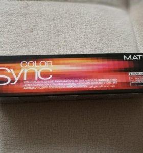 Matrix color synс крем краска для волос без амиака