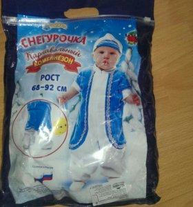 Новый карнавальный костюм снегурочки