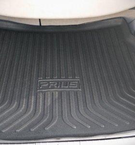 Ковёр в багажник модельный, для Toyota Prius 30