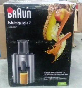 Соковыжималка Braun multiquick 7
