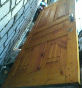 Дверь входная без коробки