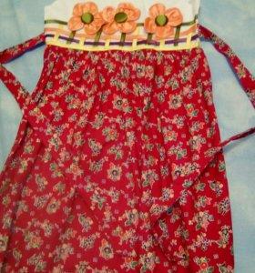 Новое платье на 7-8 лет💖