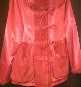 Куртка на флисе