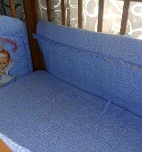 Набор в детскую кроватку.