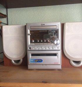 Музыкальный центр lg модель lx-м345