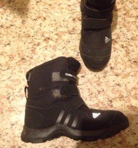 Ботинки зимние adidas climaproof