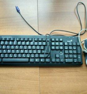 Долговечная мышь и клавиатура