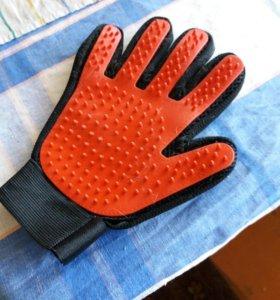 Перчатка для выглаживания шерсти