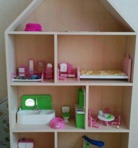 Кукольный домик, полка