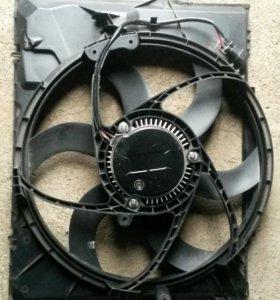 Вентилятор радиатора БМВ 1 серии е87(новый)