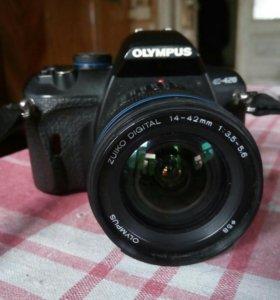 Зеркальная камера olympus