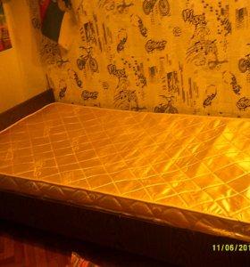 Кровать ш90 см