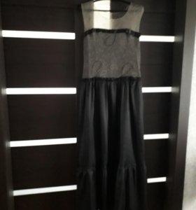 Дизайнерское вечернее платье новое