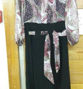 Платье ж р.48