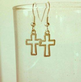 Серьги-кресты
