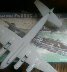 Сборная модель fw-200 на запчасти или восст.