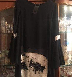 Вечернее платье, шифон, новое ( из Турции) S,M,L