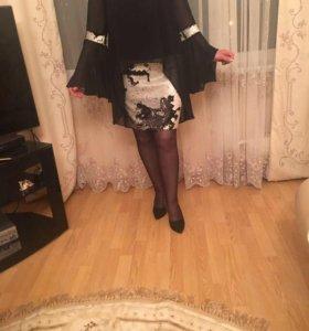Новое Вечернее платье из шифона,из Турции