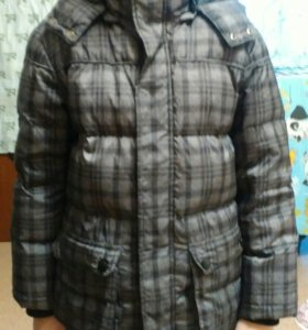Куртка для мальчика (осень-весна) пух-перо
