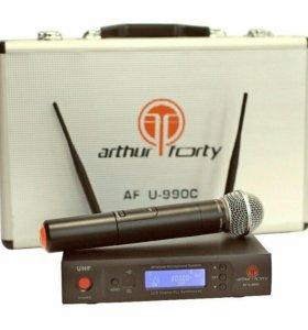 Радиосистема вокальная UHF Arthur Forty U-990C