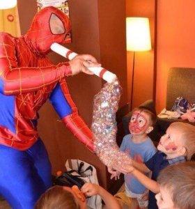 Человек-паук на день рождения вашего ребёнка!