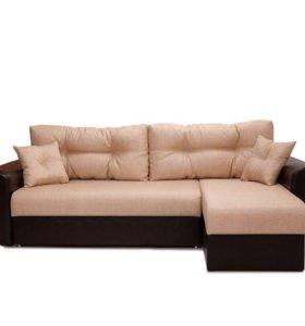 Диваны угловые еврокнижка недорого новая мебель