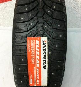 Новые Шины 235/60 R16 Bridgestone Blizzak Spike 01