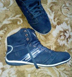 Зимние кросовки новые