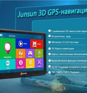 Навигатор Junsun 7 Новый.