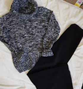 Брюки и теплый свитер