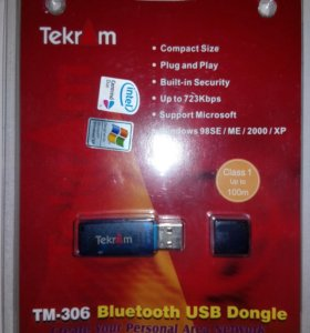 Адаптер Bluetooth USB Tekram TM-306