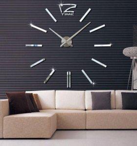 Большие настенные часы 3D