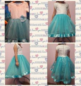 Нарядное платье ручной работы для вашей принцессы