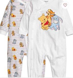 Пижамы детские H&M
