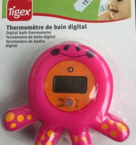 Новый цифровой градусник для воды и воздуха