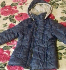 Куртка для девочки 8-9