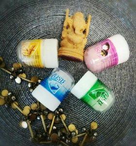 Дезодоранты с разными запахами, безопасные