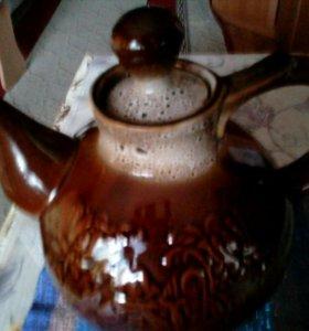 Чайник подарочный 5 л.гжель