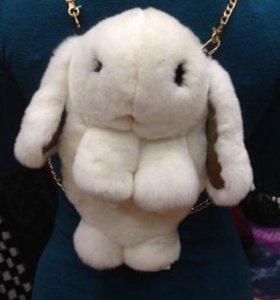 Кролик рюкзачок