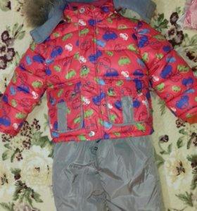 Зимний костюм на 2-3 года