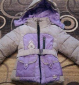 Зимняя куртка на девочку