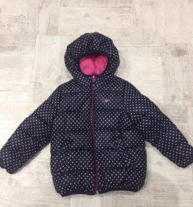 Куртка Остин на девочку 4-5 лет в идеале