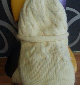 Шапк шарф зимняя
