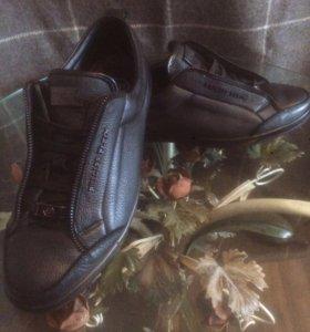 Кожаные кроссовки Philipp Plein