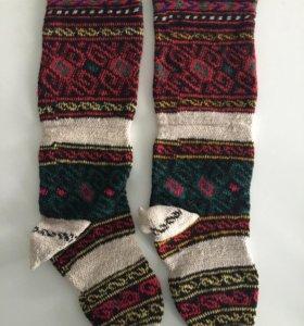 Шерстяные носки (гетры)